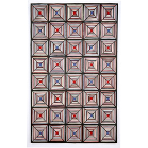 rug -- cross stitch outdoor -- overstock