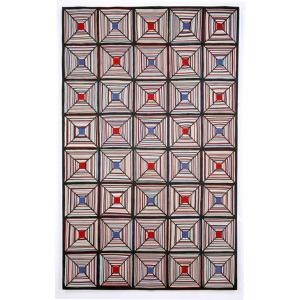 rug -- cross stitch outdoor -- overstock