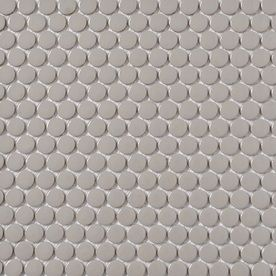 tile -- penny round gray lowe's