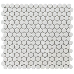 tile penny round home depot