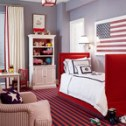 flag -- with daybed