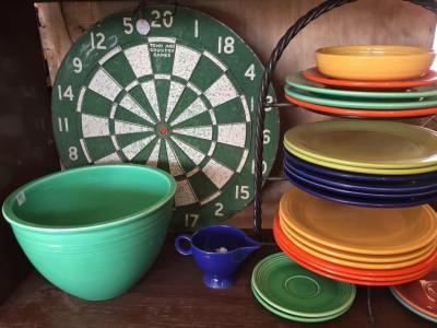 hello vintage fiesta ware