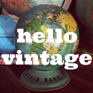 hello vintage upclose