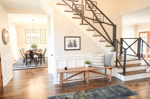 fixer upper x staircase 3