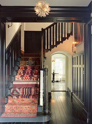 gray stairs paper scissorsorange