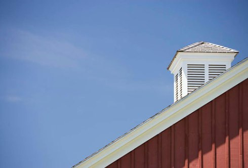 TOH another house barn with cupola