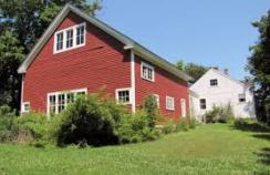 TOH vintage white house and red barn 2