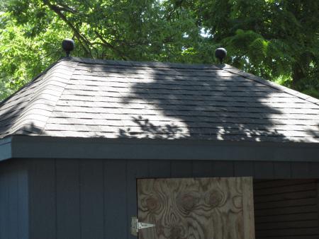 garden shed 2 finials 2
