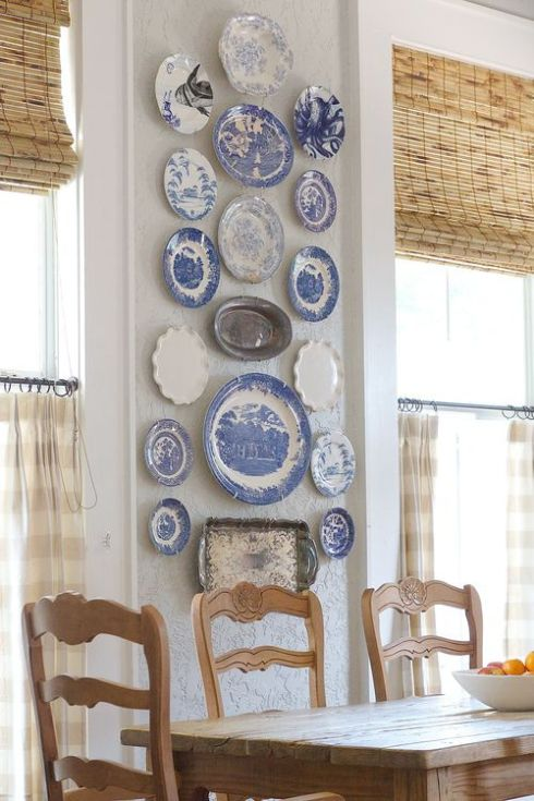 plate-wall-with-lots-of-blue-with-gingham-tiers-curioussofa