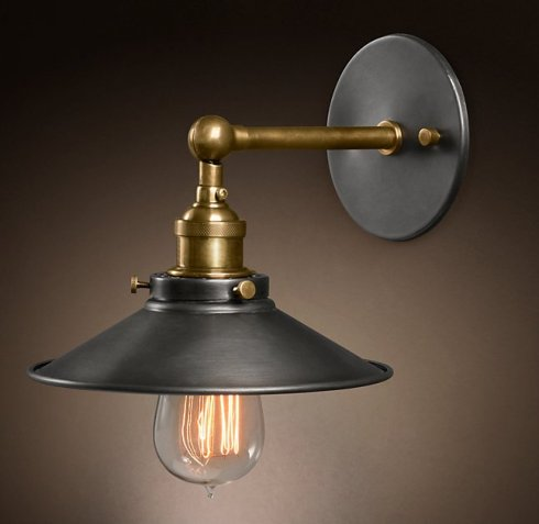 restoration-hardware-black-and-brass-light-fixture