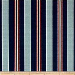 fabric of blue and red stripes 2