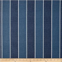 fabric of blue and red stripes