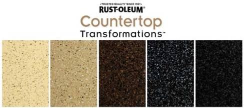 rustoleum counter top kit
