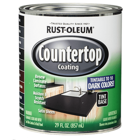 rustoleum counter top paint