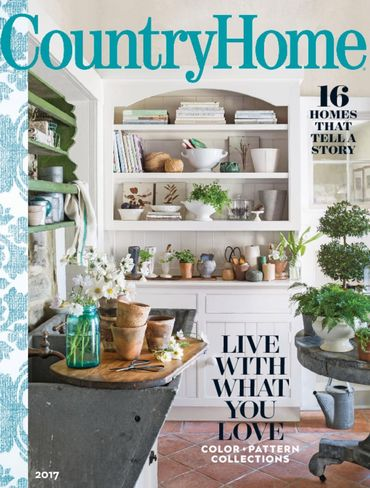 country home magazine cover
