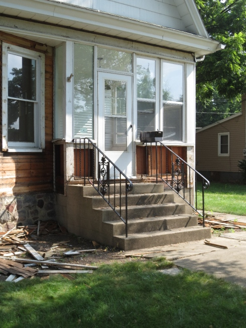 dutch colonial front porch midway gone