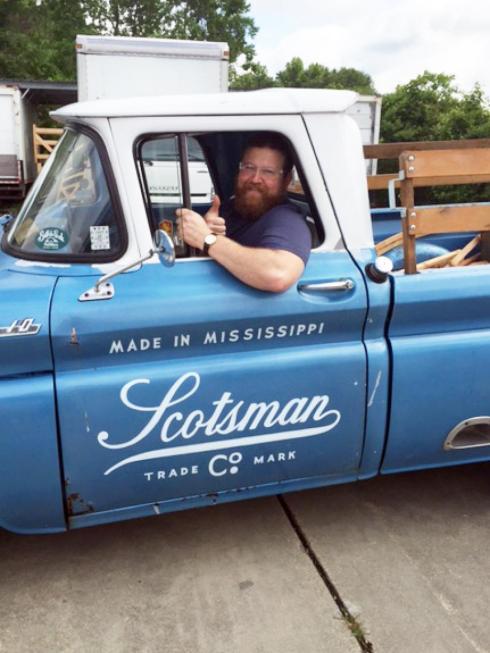 hometown -- pick up truck