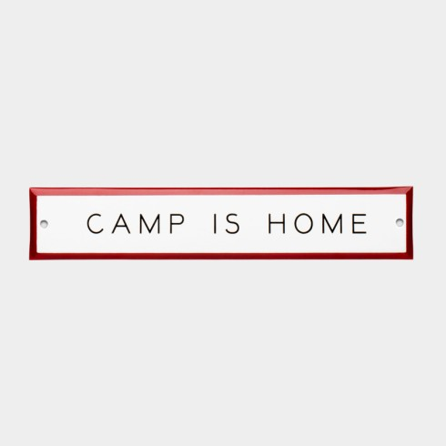 canned ham camp is home sign $28
