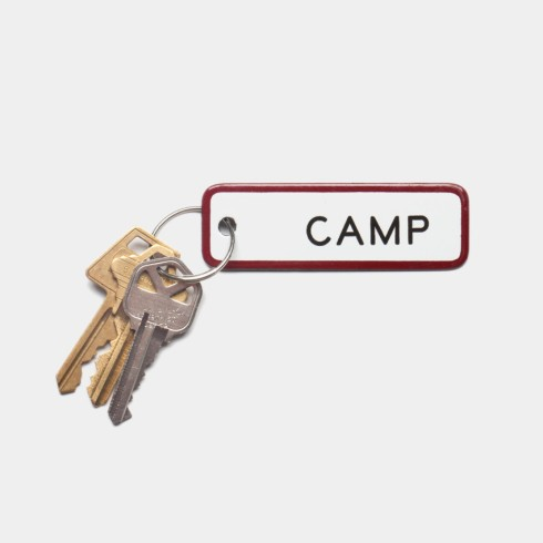 canned ham camp key chain $14