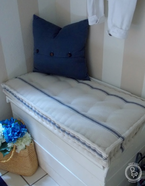 french mattress blog white with blue stripes august blues