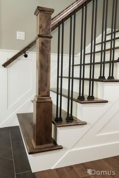 stairs with iron