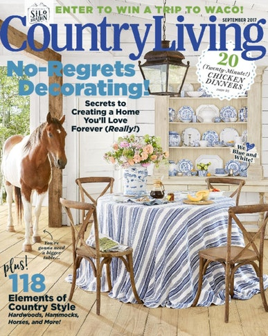 country living cover september 2017
