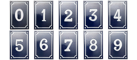 numbers for house