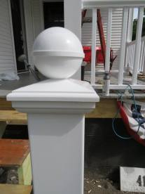 porch post again
