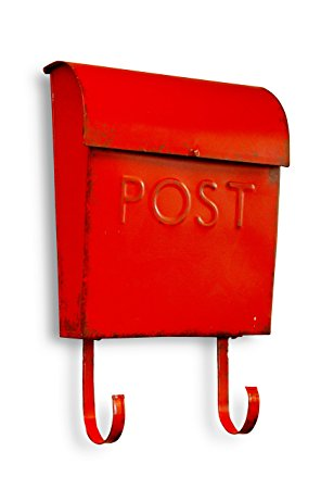 mailbox of red