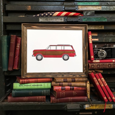 new orleans car print