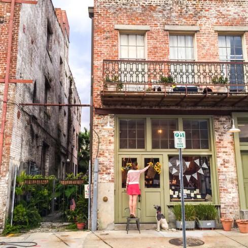 new orleans shop exterior