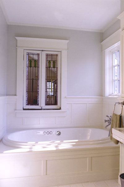 board and batten bathtub