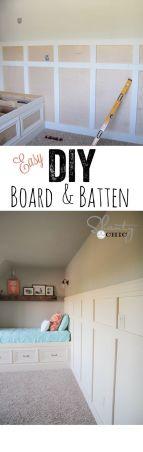 board and batten DIY