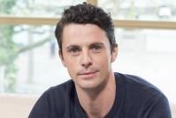 EDITORIAL USE ONLY. NO MERCHANDISING Mandatory Credit: Photo by Ken McKay/ITV/REX/Shutterstock (5658608ag) Matthew Goode 'This Morning' TV show, London, Britain - 21 Apr 2016 We last saw him saying 'I Do' to Lady Mary in Downton but now Matthew Goode has swapped the Granthams for grapes and has turned presenter for a new wine show for ITV4. He tells us about taking us around the wine world with his former co-star Matthew Rhys, his upcoming project with Brad Pitt and what he makes of those rumours about him becoming the next James Bond.