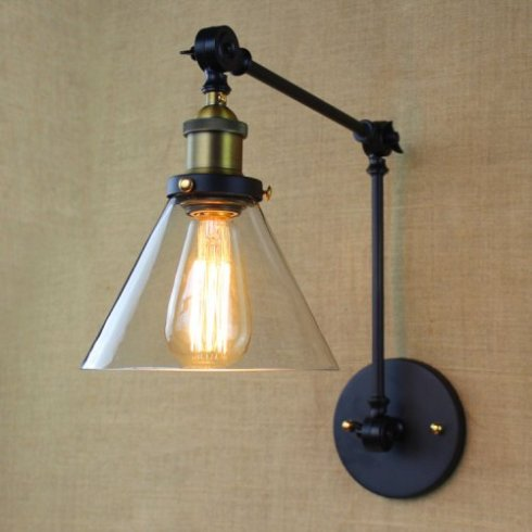 swing arm light fixture