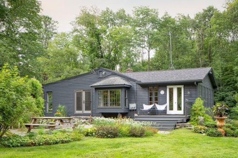 berkshire black house outside