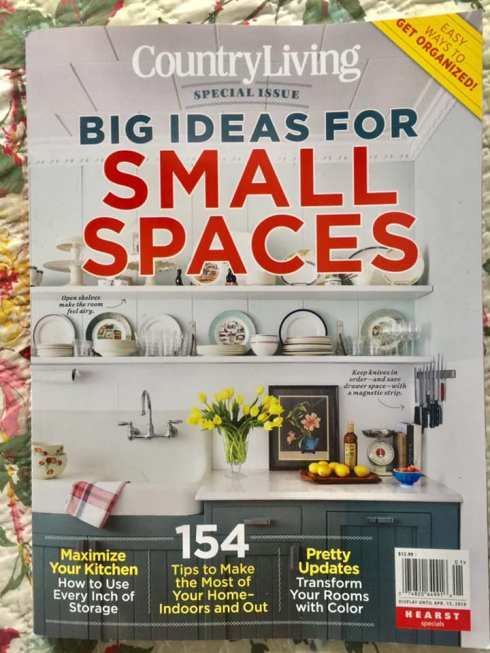 magazine small spaces big
