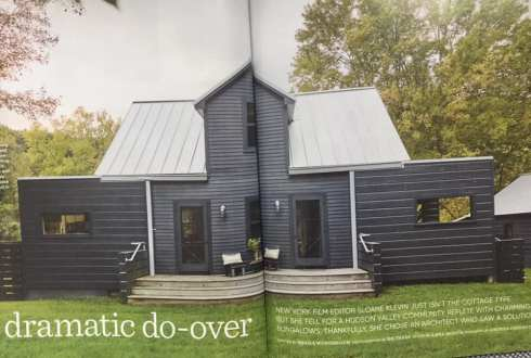 cape cod of black from country home magazine